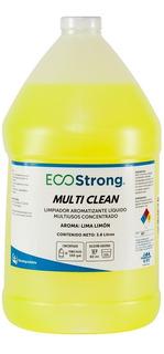 Limpiador Aromatizante Biodegradable Lima Limon Concentrado