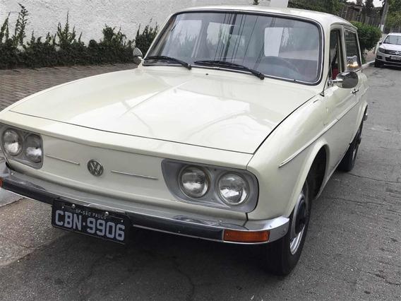 Volkswagen Variant 1974 Placa Preta