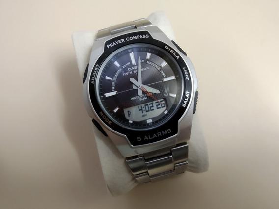 Raríssimo Relógio Casio Cpw-500h Prayer Compass (islâmico)