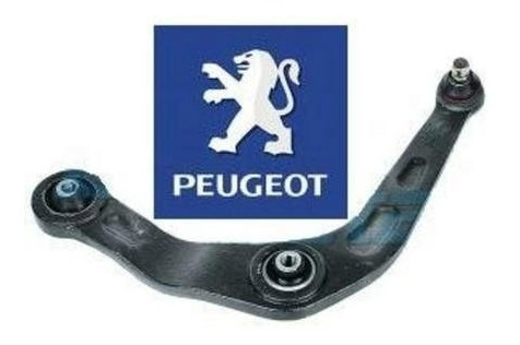 Bandeja + Pivo + Buchas Dianteira Ld Peugeot 206 207 Nova