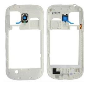 6031fbb992c Marco Soporte Frame Trasero Blanco Galaxy S3 Mini I8190