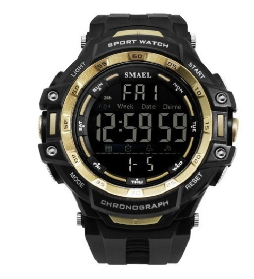 Relógio Masculino Esportivo Digital Smael 1350 Prova D Agua