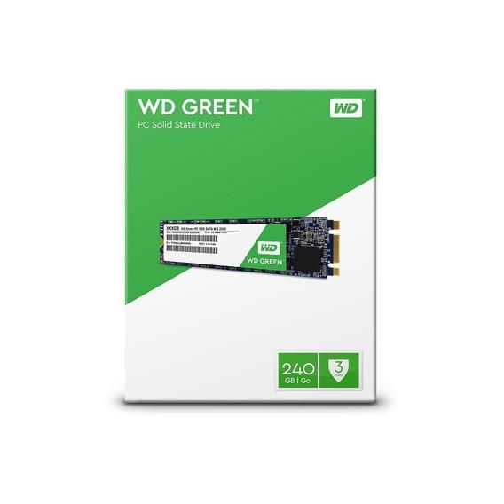 Ssd Wd 240gb Green M.2 2280 Wds240g2g0b Western Digital