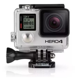 Go Pro Hero 4 Silver 4k + Kit Completo De Acessórios