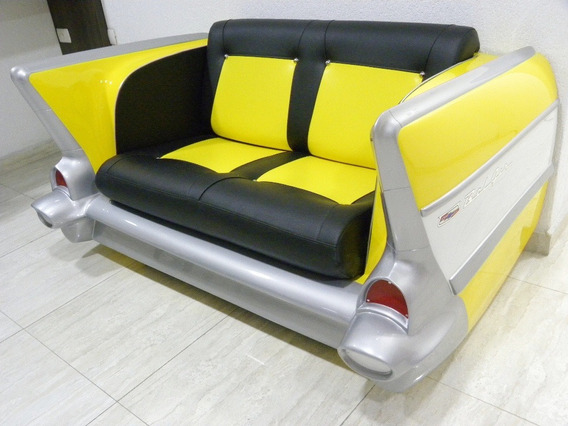 Sofá De Carro Belair Móveis De Carro Na Loja Hr Rodas R$5200