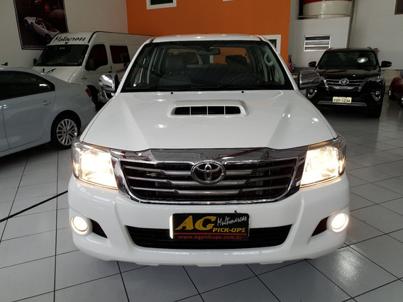 Toyota Hilux Dupla Srv 3.0 Diesel Aut 4x4 Top Acess Couro