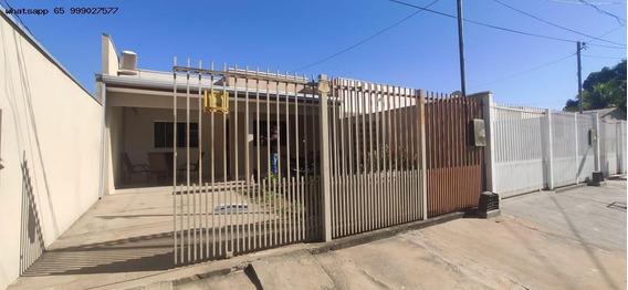 Casa Para Venda Em Cuiabá, Nossa Senhora Aparecida, 2 Dormitórios, 1 Banheiro, 2 Vagas - 621_1-1522165