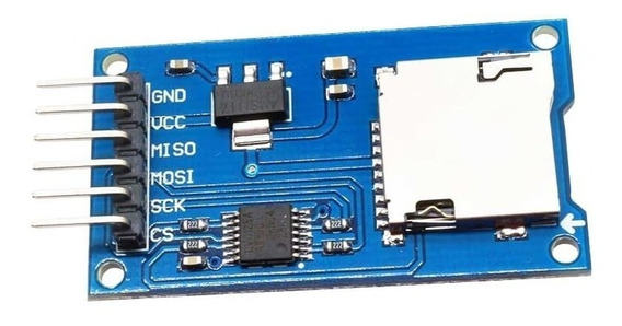 Módulo Cartão Micro Sd Arduino Sd Card Pic Leitor Gravador