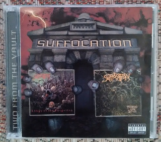 Suffocation - Two From The Vault 2cds Edición 2003 Zmcjca