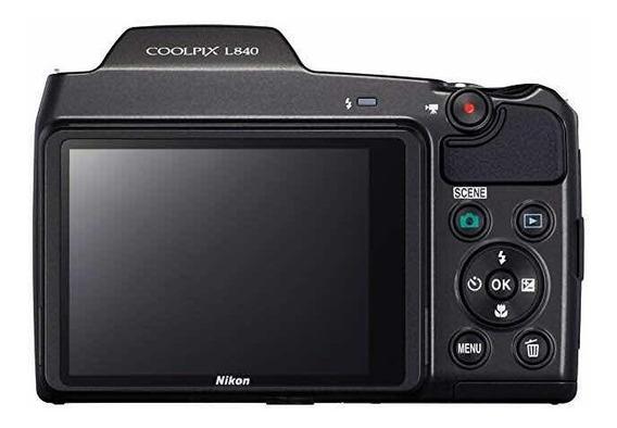 Nikon Coolpix L840 Cámara Fotos Zoom Wifi
