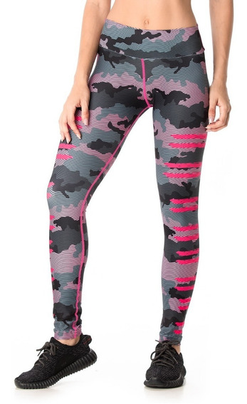 Calzas Deportivas Mujer Touche Sport Lycra Mujer Gym Ls 330
