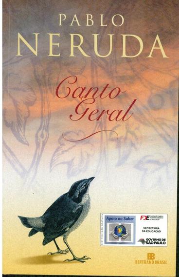 Livro Canto Geral - Pablo Arruda - 602 Paginas
