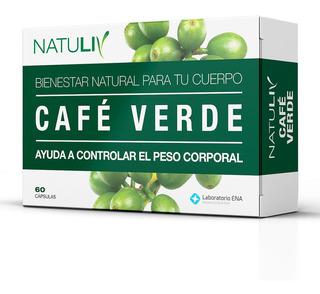 Café Verde 60 Caps Natuliv Perdida De Peso Vitamina B6