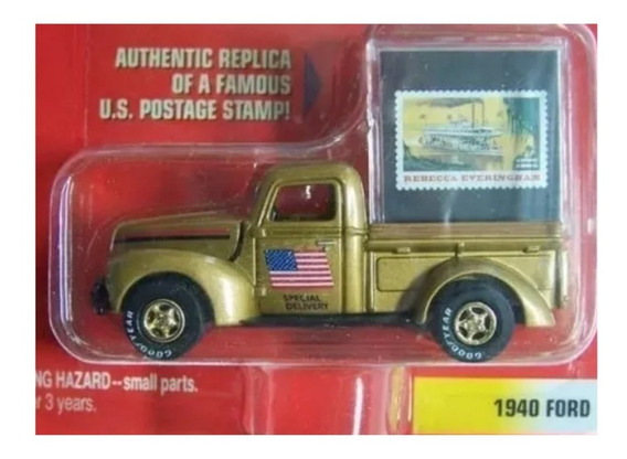 1940 Ford Pickup Johnny Lightning Ruedas De Goma Solo Envios