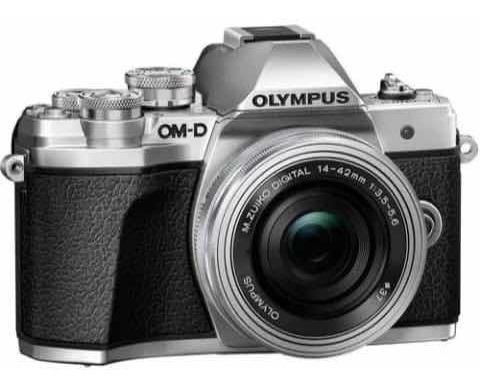 Câmera Fotográfica Olympus Om-d E-m10 Mark Ii C/ Duas Lentes