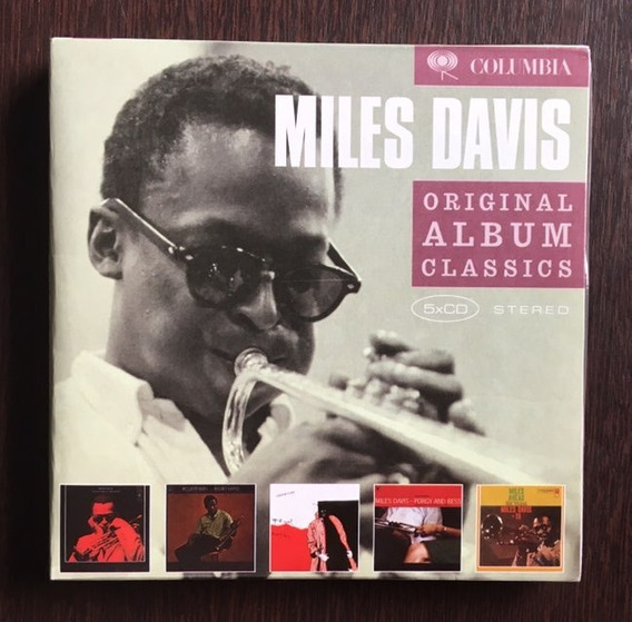 Cd Miles Davis - Box Original Album Classics / 5 Cd´s / Novo