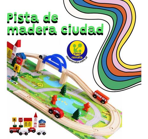 Imagen 1 de 1 de Pista De Madera Ciudad