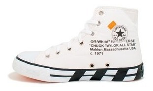 Botinha All Star Chuck Taylor Off White