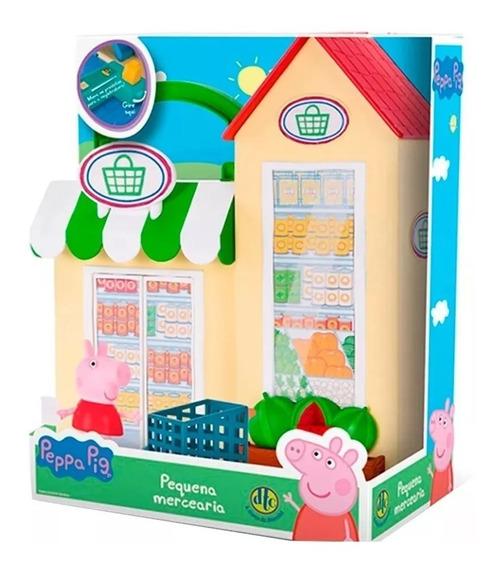 Peppa Pig Pequena Mercearia Da Peppa Com Figura D T C