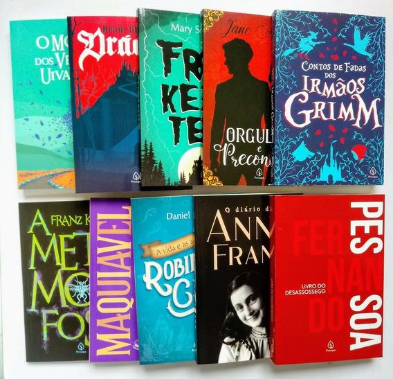 Kit Com 10 Livros Clássicos Da Literatura -editora Principis
