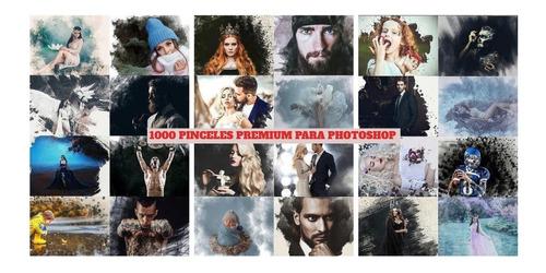 1000 Pinceles Premium Para Photoshop - Estílos Únicos !
