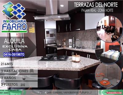 Alquiler De Casa En Urb Terrazas Del Norte Al01-0016pr-ro
