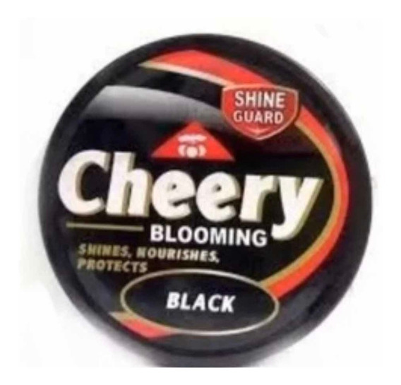 Crema De Zapatos Negra Cheery Blooming (3 Pack)