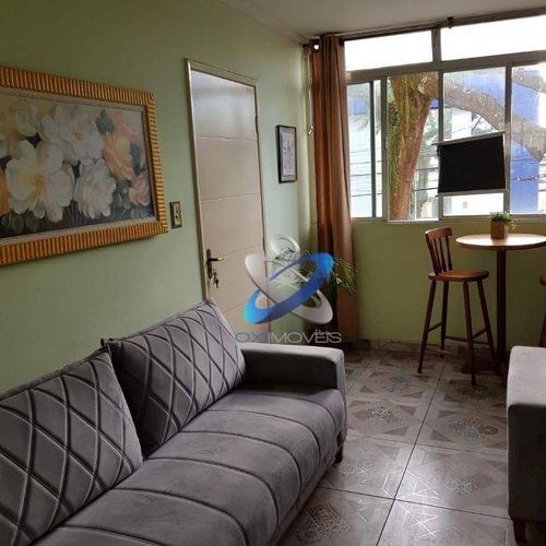 Imagem 1 de 11 de Apartamento 3 Dormitórios No Vila Ema Todo Reformado - Ap1789