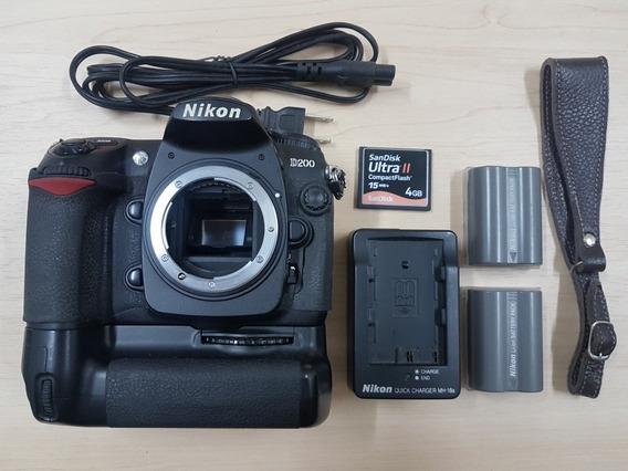 Câmera Fotográfica Nikon D200