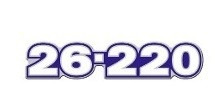 Emblema Resinado 26-220 Frontal Caminhão Volkswagen 26220