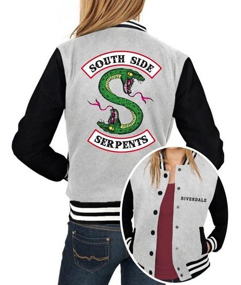 Jaqueta College Feminina Série Riverdale Southside Serpents