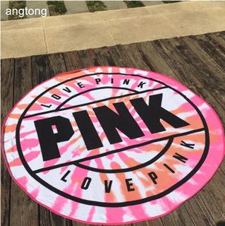 Tapete Toalla Playa Pink Victoria Secret Rosa + Tatoo Gratis
