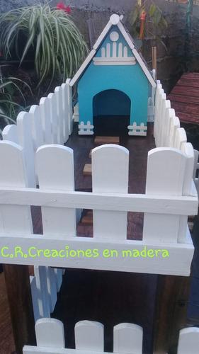 Casa Desmontable Para Cuis  Cobayos Erizos 2 Pisos
