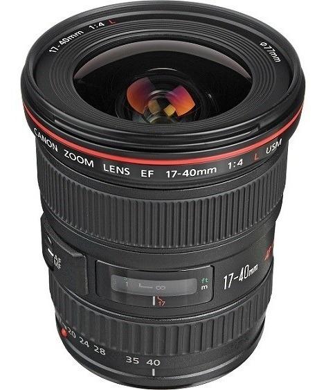 Lente Canon Ef 17-40mm F/4l Usm - Garantia 12 Meses