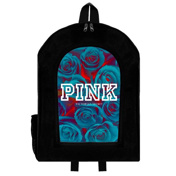 Mochila Urbana Reforzada Love Pink 4 Givan
