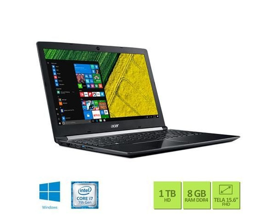 Notebook Acer A515-51g-72db I7-7500u 8gb 1tb Nvidia 940mx 2