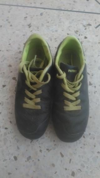 Zapatos Deportivos De Taco Patrick Talla 32 Usados