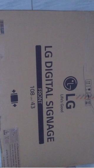 Monitor Lg Profisional 43 Polegadas. Digital Signage.