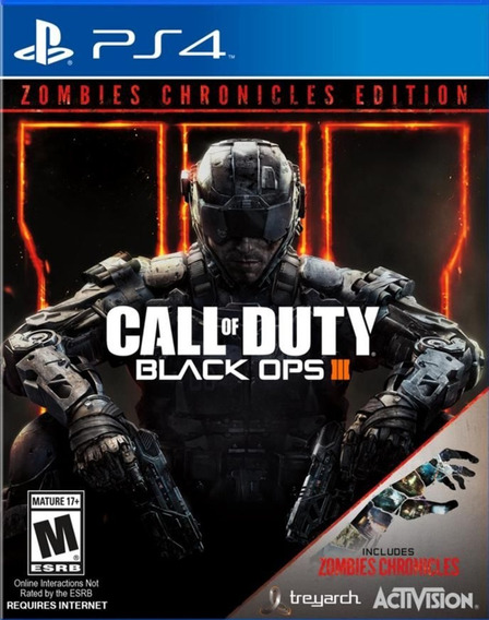 Call Of Duty : Black Ops 3 - Zombies Chronicles - Ps4