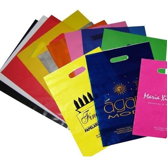 Sacolas Plásticas Personalizadas 30x40 1000 Un.