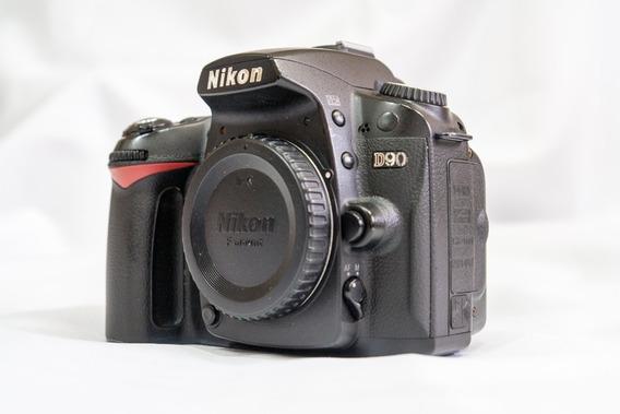 Câmera Dslr Nikon D90