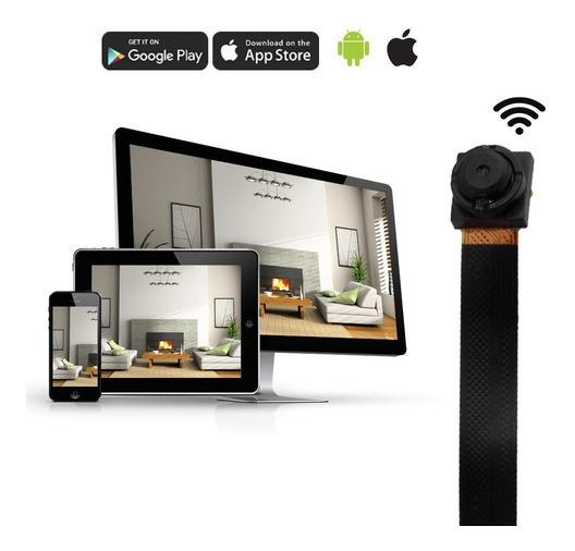Mini Camara Espia Inalambrica Hd Recargable Wifi Microfono