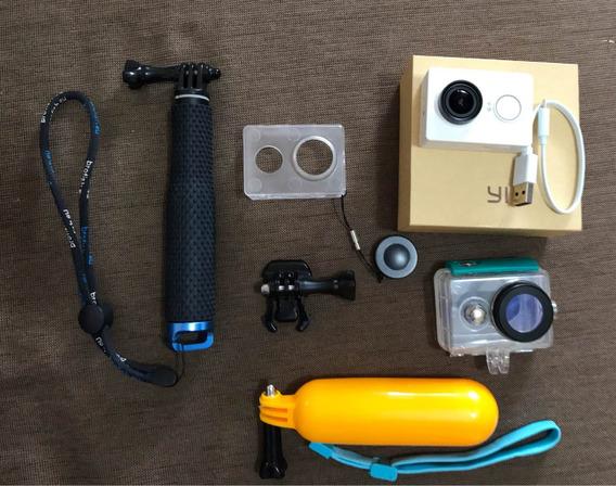 Câmera Xiaomi Yi + Acessórios Grátis