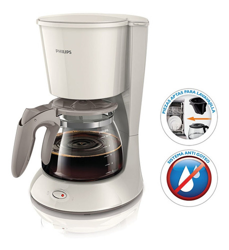 Cafetera De Filtro Philips Hd-7447-00