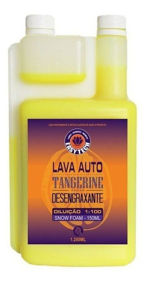 Shampoo Desengraxante 1:100 Tangerine 1200ml Easytech