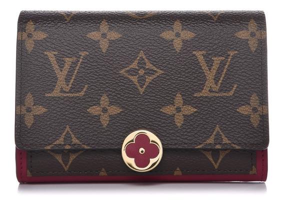 Carteira Compacta Flore Louis Vuitton