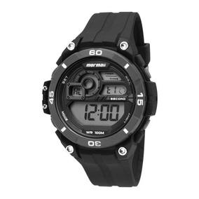 Relógio Mormaii Mo20198p Masculino Pulseira Plástica