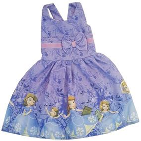Kit 2 Vestido Infantil Princesas - Promoção