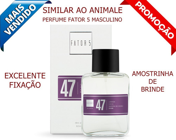 Perfume Fator 5 Nº 47 - Similar Ao Animale