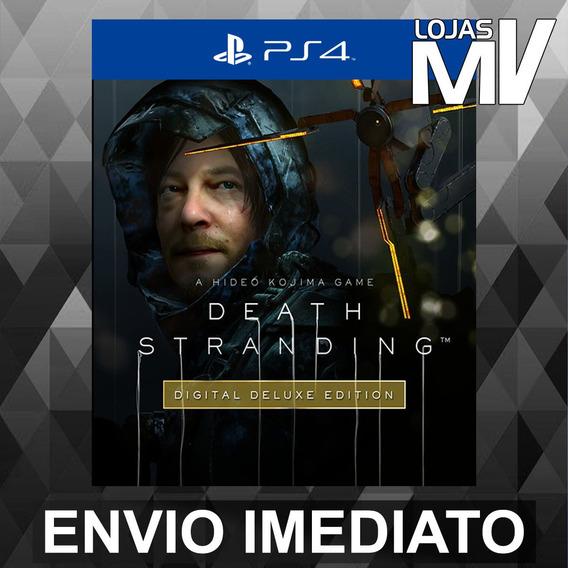 Death Stranding Digital Deluxe - Ps4 Código 12 Dígitos